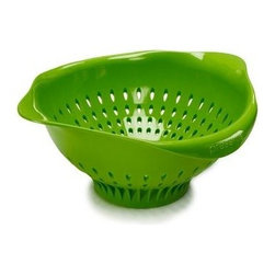 Preserve Large Colander - Green - 3.5 Qt - Made in USA from 100% Recycled Materials Including Food Storage Containers