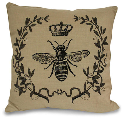 Traditional Decorative Pillows Royal Bee Pillow