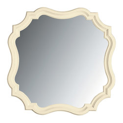 Stanley Furniture - Coastal Living Cottage Piecrust Mirror - Like your Nana's old world piecrust, this beveled edge, cornice cut mirror improves everything around it. Made to order in America.