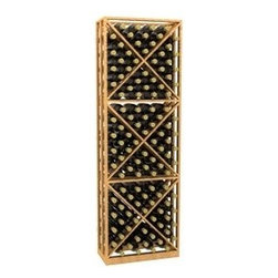 6' Lattice X-Cube Storage Wood Wine Rack - 6' Lattice X-Cube Storage Wood Wine Rack is part of our 6' Series.