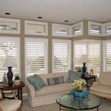 Traditional Window Treatments by Elizabeth Shutters