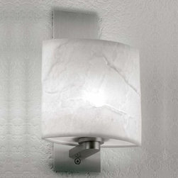 LumenArt - AWL.19.4 Wall Sconce | LumenArt - Wall light for direct and indirect illumination.Material