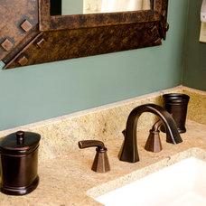 Traditional Bathroom by Interiors by Randi