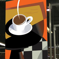 Custom Printed Roller Shades - Are you a coffee lover?