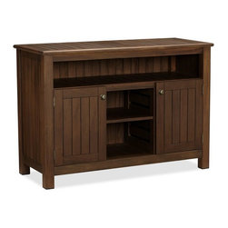 Chatham Buffet - This is a sideboard for outdoor entertaining! Serve up some fresh-squeezed lemonade for the kids and wine for the adults. I also like the storage underneath.