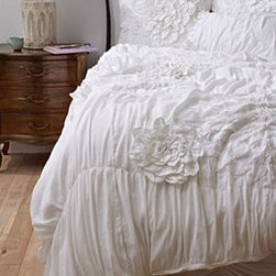 Anthropologie - Georgina Duvet - More colors availableCottonDry clean Imported
