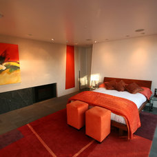 Midcentury Bedroom by Couture Architecture