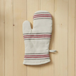 Oven Mitt, Bistro Stripe - Oven mitts and potholders are totally the types of things you rarely buy for yourself, but they make much-appreciated gifts because they wear out so easily. I love this one with bistro stripes from West Elm.