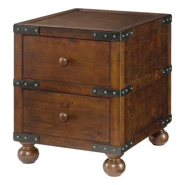 Hammary - Hammary Hidden Treasures Trunk End Table - Trunk end table belongs to Hidden Treasures collection by Hammary