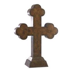 Cyan Design - Spanish Cross - Spanish cross in burnished bronze.