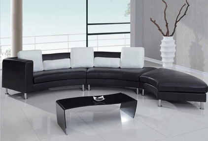 Contemporary Sectional Sofas by cymax
