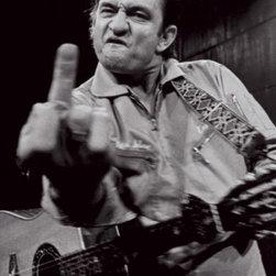 Johnny Cash- San Quentin Portrait -