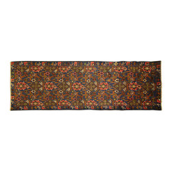 Manhattan Rugs - New Oriental Area Rug Hand Knotted Wool Baluch Geometric-Floral Art Runner P222 - They have a very distinctive type of rugs recognizable at a glance. Anyone remotely familiar with oriental rugs could hardly mistake a typical example