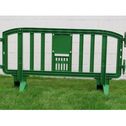 MLR INTERNATIONAL - Movit Barricade - Green - Green Plastic Movit Barricade