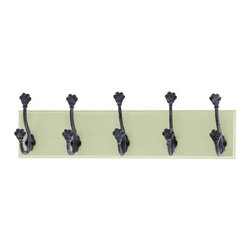 Benzara - Mankind's Best Friend Wall with Dog Paw Hooks - Mankind's Best Friend wall with Dog Paw hooks. Man's best friend deserves a spot on the wall in any loving pet owner's home.