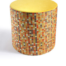 Eclectic Ottomans And Cubes by Designing Solutions