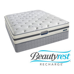 Simmons Beautyrest - Beautyrest Recharge 'Maddyn' Plush King-size Mattress Set - You deserve to wake up refreshed, restored and recharged. This Beautyrest mattress combines the conforming back support of pocketed coils with the comfort of AirCool foams. A layer of plush GelTouch comfort foam helps provide pressure relief.