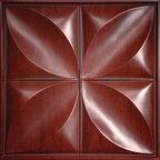 Petal Cherry Wood Ceiling Tiles -