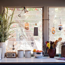 Eclectic  Kitchen window display