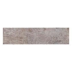 Saime - Saime Fusion Musk Bullnose 3 x 12 - The Fusion tile series by Saime features durable through-body glazed porcelain tiles in contemporary wood look styles.  It's pretty easy to tell by it's non traditional wood colors and high shade variations how this collection got it's name.