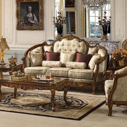 Homey Design - Ayamonte Sofa - HD-953-S - Ayamonte Living Room Collection
