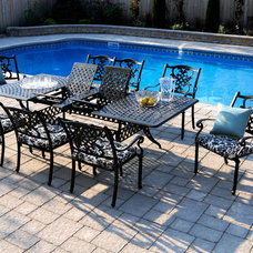 Traditional Outdoor Dining Tables by InsideOut Patio Furniture
