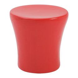 Eurostyle - Takis Stool - Red - High Gloss Fiberglass