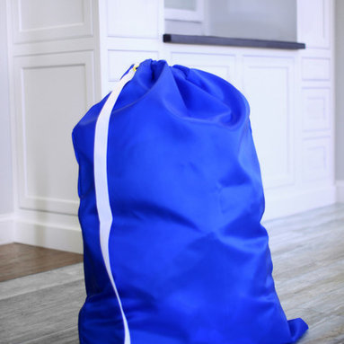 """Keeble Outlets™ - Jumbo Laundry Bag from Keeble Outlets with Shoulder Strap - 30"""" x 40"""", 30"""" X 40"""" - A laundry bag that is big yet easy to carry, commercial grade and made in The USA."""