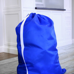 "Keeble Outlets™ - Jumbo Laundry Bag from Keeble Outlets with Shoulder Strap - 30"" x 40"", 30"" X 40"" - A laundry bag that is big yet easy to carry, commercial grade and made in The USA."