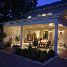 Contemporary Exterior by Crawford Builders