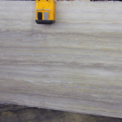 Ocean Blue Travertine Slab -