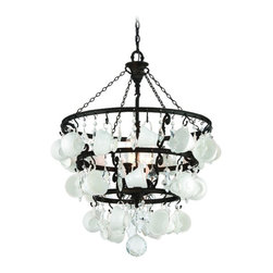 Troy Lighting - Troy Lighting F3827 Barista Single Tier Chandelier - Wrought Iron Single Tier Chandelier in Vintage Bronze from the Barista Collection by Troy Lighting.