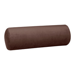 Howard Elliott - Howard Elliott Bella Chocolate Bolster Pillow - Bolster pillow bella chocolate