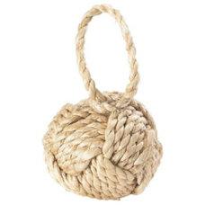 Mediterranean Accessories And Decor Rope Knot Doorstop