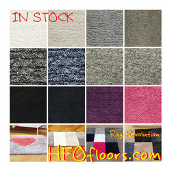 DIY in stock - Rug Revolution from Stanton Carpets 12 colors available that you can mix and match. Velcro back allows you to change your combination as many time as you want. This super soft, plush, polyester carpet is great for your teen or tween that is always changing their space. Cut into custom shapes for a custom-made, unique carpet that can grow with your changing style.