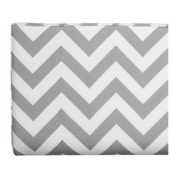 Z Gallerie - Charlie Headboard - Zig Zag - Hollywood chic in a modern grey and white chevron pattern. Our Charlie Headboard projects a zig-zag pattern and is atelier friendly. Sharpen any room with this 100% cotton fabric which is made in the USA.