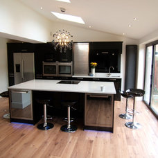 Modern Kitchen Islands And Kitchen Carts by Cheshire Granite Worktops
