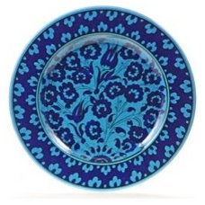 "10"" Turkish Turquoise ""Masterwork"" Decorative Plate"