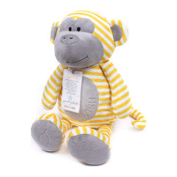 "Bella Tunno - Poetic Plush - Wish Monkey - Poetic Plush by Bella Tunno makes gift giving easy! Our Wish Monkey sits at 18"" tall and comes with a sentiment to Wish and a poem by Shel Silverstein on it's hangtag - ""Listen to the mustn'ts, child. Listen to the don'ts. Listen to the shouldn'ts, the impossibles, the won'ts. Listen to the never haves, then listen close to me...Anything can happen, child. Anything can be."""