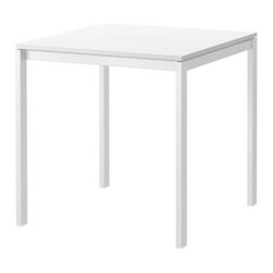 Lisa Norinder - MELLTORP Dining table - Dining table, white