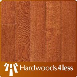 """2 1/4"""" x 3/4"""" White Oak Natural Cherry Oak Solid Hardwood Floori -"""
