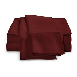 ExceptionalSheets - 1500 Thread Count Egyptian Cotton 3-Piece Duvet Cover by ExceptionalSheets - Your Duvet Cover makes the most immediate impression when one enters the bedroom. Dress your bed in luxury with our Egyptian Cotton Duvet Cover. They're available in multiple size ranges and colors making up almost 200 options! Whether the cover is a gift for a friend or you are buying for yourself, you know you are getting top-quality luxury with Exceptional Sheets.