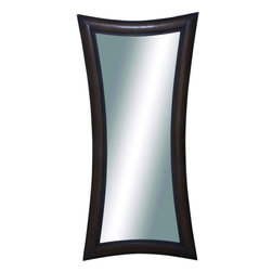 "Benzara - Liaoning Attractive and Elegant Wood Wall Mirror - Tired of seeing the same old mirror adorning your wall? Then give your home and walls a refreshing look and feel with this one of a kind mirror. This wall mirror features an X shaped pattern design with smoothed edges and fine finishing. This unique shaped mirror can brighten up any plain wall or space adding depth and making the room look spacious and brighter. Your guests are surely going to admire this mirror and your great choice. This mirror can be used for enhance the aesthetic look of your home/room or used as dressing mirror.This unique wall mirror is easy to clean and maintain. Designed to suit all types of environment and ambience, this mirror is assured to make your home look glamorous. You can even present it to your family and friends, they surely will appreciate your great choice!. This Wood Wall Mirror measures 36 inch (W) x 1 inch (L) x 75 inch (H); Made of wood; Smooth finishing and X shaped pattern; Dimensions: 35""L x 2""W x 42""H"