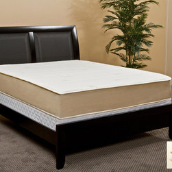 Rest Assure - Rest Assure High Density 10.5-inch California King-size Memory Foam Mattress - This memory foam mattress features 10.5 inches of various layers of supremely comfortable foam for great slumber. The temperature balanced system adjusts to your body temperature so you don't get too hot or cold.
