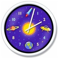 Eclectic Kids Clocks by Amazon