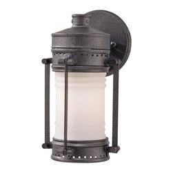 Feiss - Feiss OL9100OLC Dockyard 1 Light Oil Can Outdoor Wall Sconce - Finish: Oil Can