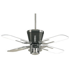 Contemporary Ceiling Fans by Lighting Front