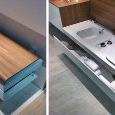 Contemporary  Hatria's G-Full toilet / bidet bench - CERSAIE 2013
