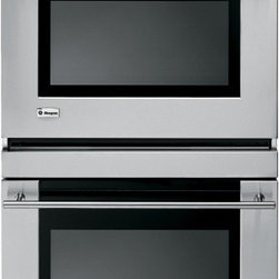 Stainless Steel Double Wall Oven - Excellent double wall oven in stainless steel  for a kitchen which needs extra ovens or one with a cook top rather than a range.