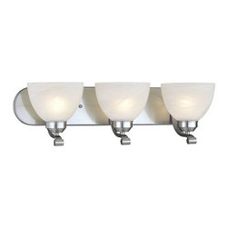 Minka Lavery - Minka Lavery ML 5423 3 Light Bathroom Vanity Light with Medium (E26) Base Lampin - Three Light Bathroom Vanity Light with Medium (E26) Base Lamping from the Paradox CollectionFeatures: